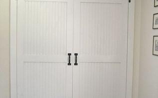 diy cottage closet door makeover, closet, diy, doors, how to, tools, woodworking projects, DIY Closet Door Makeover