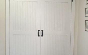 DIY Cottage Closet Door Makeover