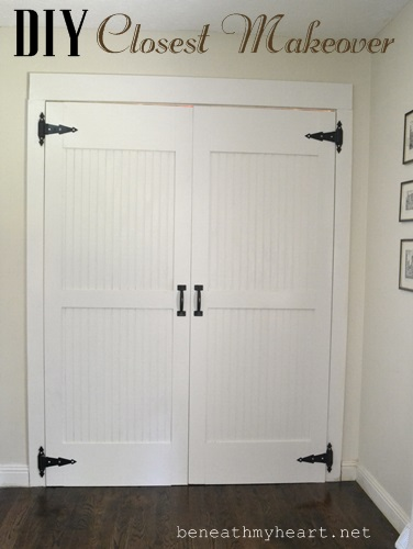 DIY Closet Door Makeover