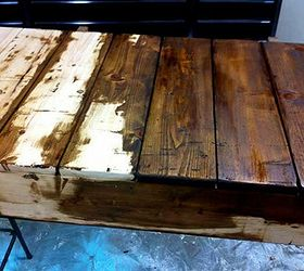 Diy Factory Cart Coffee Table, Painted Furniture, Woodworking Projects, I  Built The Wood