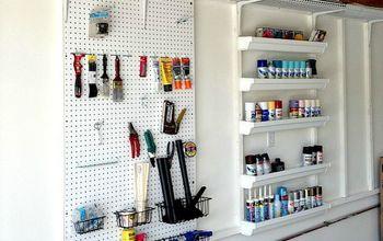 DIY Custom Built Garage Organizer