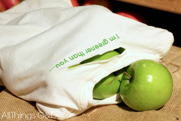 reusable produce bags made from t shirts onesies, cleaning tips, crafts, repurposing upcycling
