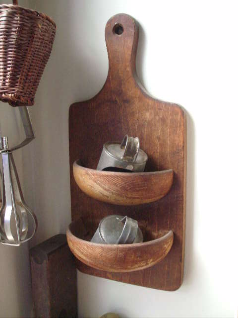 cutting board revival, home decor, repurposing upcycling, 1 Cutting Board 1 Wooden Bowl Glue and finishing nails It s too easy