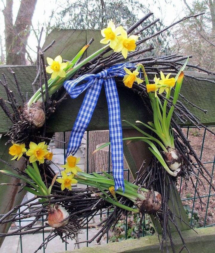 Tete a Tete Twig Wreath