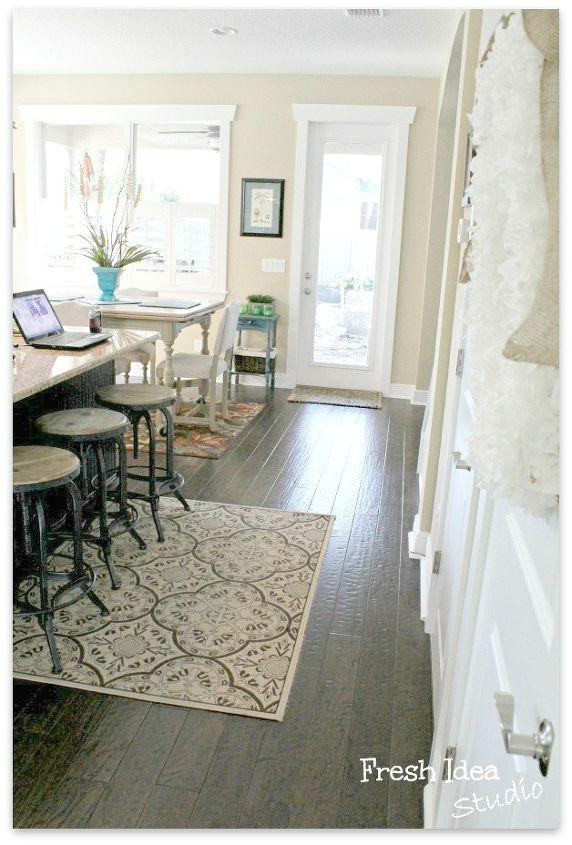 Why hand-scraped floors were the best choice for our busy household.