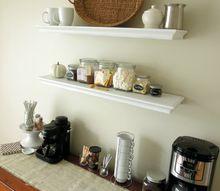 make your own hot beverage bar, home decor, kitchen design, storage ideas