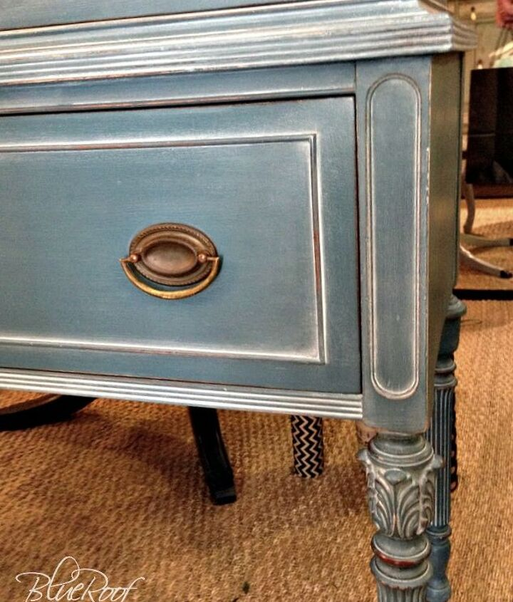 white wax on painted furniture, chalk paint, painted furniture