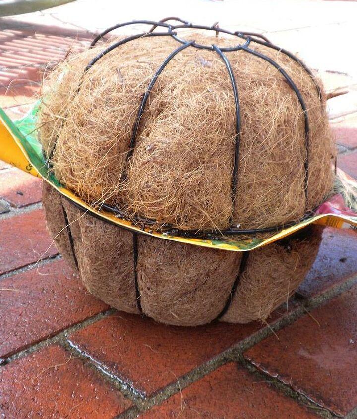 Prepared basket halves, aligned