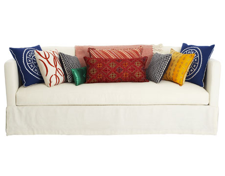 how to choose decorate throw pillows, home decor, painted furniture