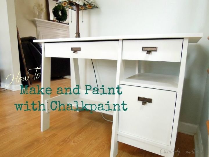 how to make and paint with chalkpaint, chalk paint, painted furniture