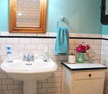 vintage bathroom renovation, bathroom ideas, home decor, After our renovation