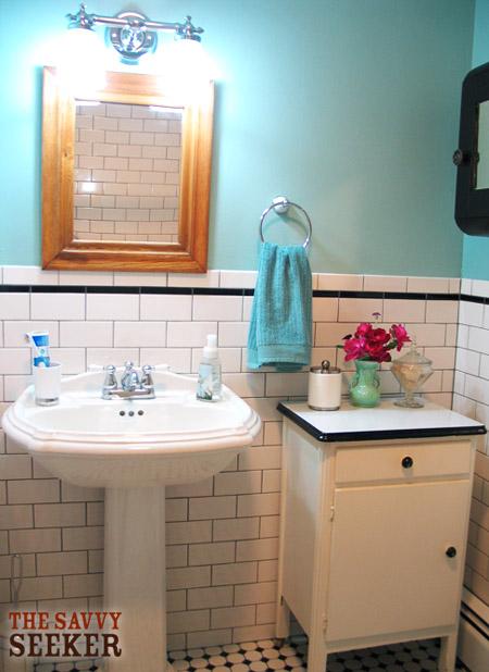 Vintage Bathroom Renovation