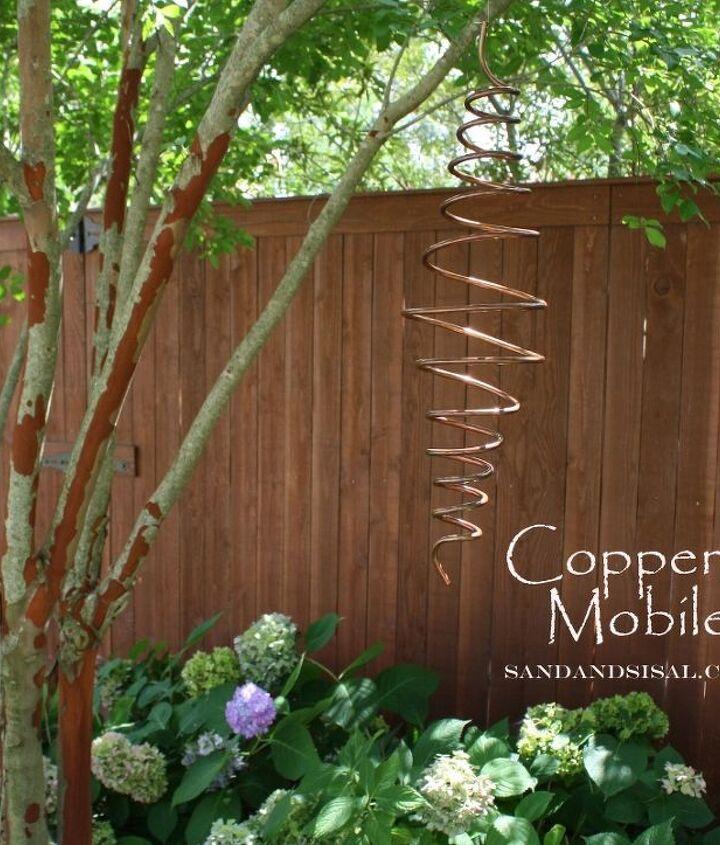 DIY Copper mobile