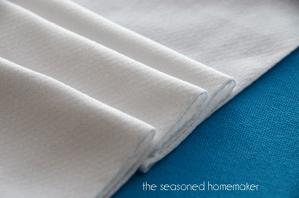 Start with Birdseye or Diaper cloth.  It it amazingly absorbent and sturdy.
