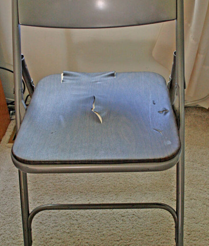 Folding Chair Before