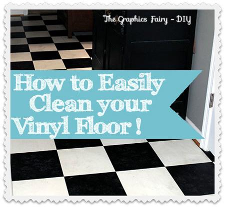 How To Easily Clean Grimy Vinyl Floors Hometalk - What's the best way to clean vinyl floors