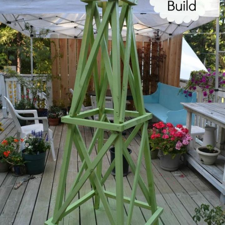 Latest Easy To Build Obelisk Diy Gardening Woodworking Projects X Type