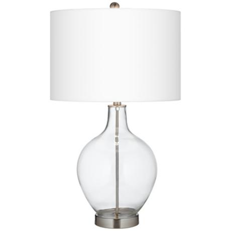 This Fillable Clear Glass Ovo Lamp is perfect for the holidays!