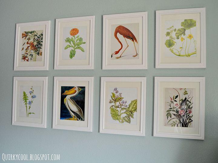 diy botanical prints, crafts, home decor