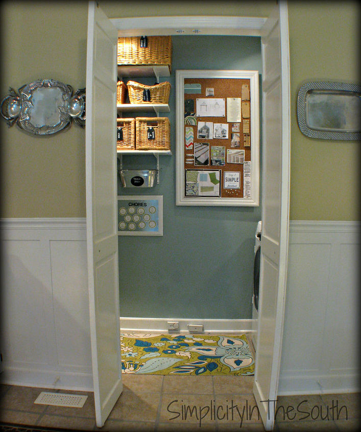 small Home/ BIG Ideas} Turn A Bifold Door Into a French Style Door ...