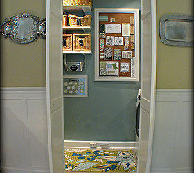 Small Home Big Ideas Turn A Bifold Door Into A French Style Door, Doors,