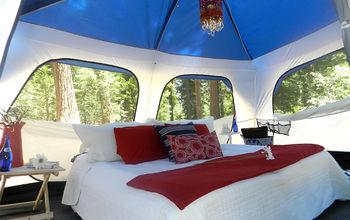 GLAMPING = Glamorous Camping @ Lake Arrowhead, California - June 2012