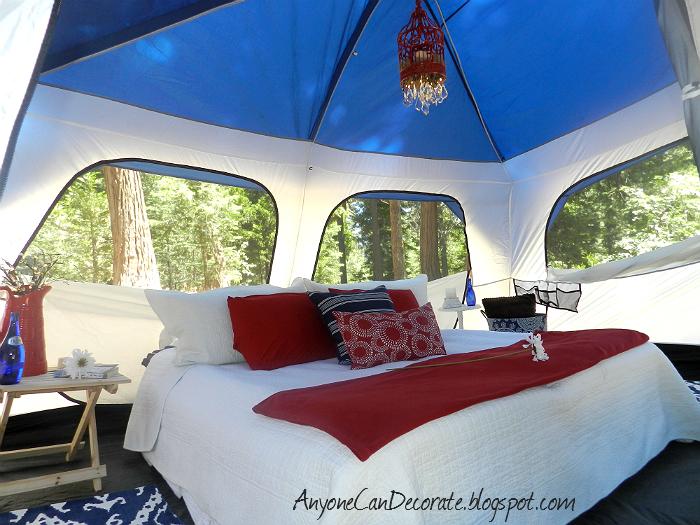 glamping glamorous camping lake arrowhead california june 2012, outdoor living