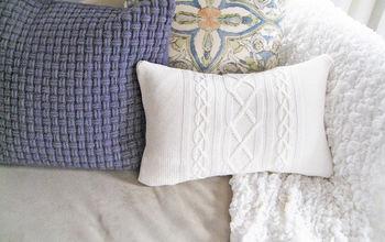 Thrift Store Sweater Pillows