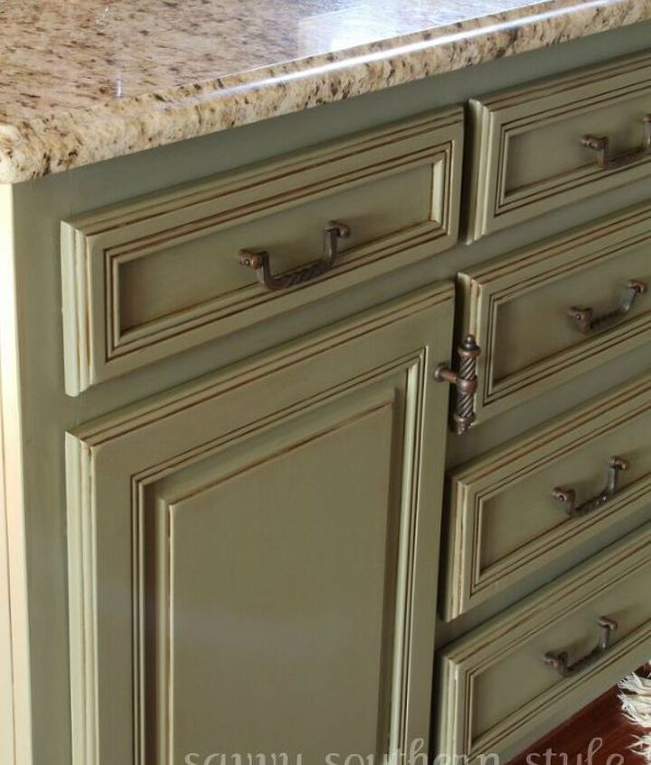 kitchen cabinets transformation, painting