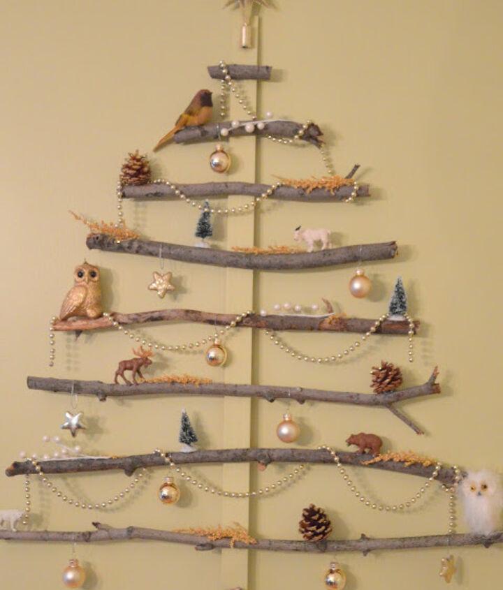 christmas tree wall art, christmas decorations, crafts, seasonal holiday decor