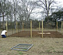 free mulch cardboard and newspaper alot of labor equals a garden, diy, gardening, Fenceing in progress