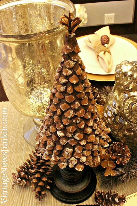 diy pinecone christmas tree christmas decorations crafts seasonal holiday decor a great