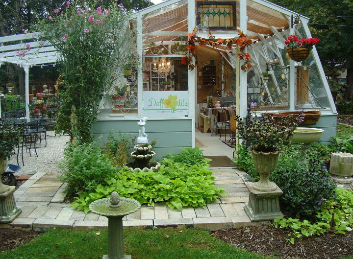 updated little shop, home decor, home improvement, Beautiful Sweet Potato Vine