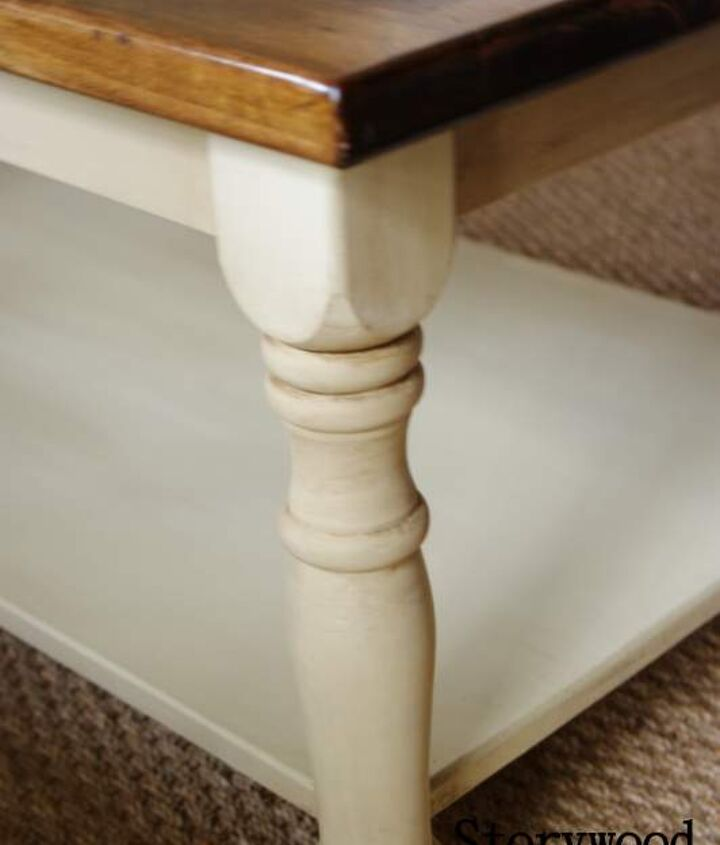Leg Detail on the coffee table