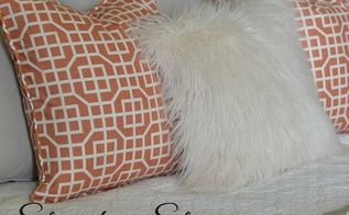 diy throw pillows with corded trim and velcro closure, crafts, home decor