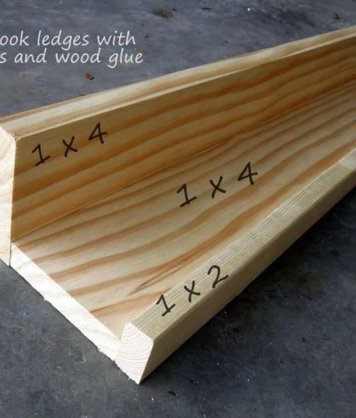 It should all go together like this. Use wood filler to fill in any holes or gaps.