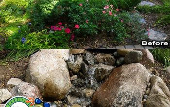 Micro Pondless Water Feature