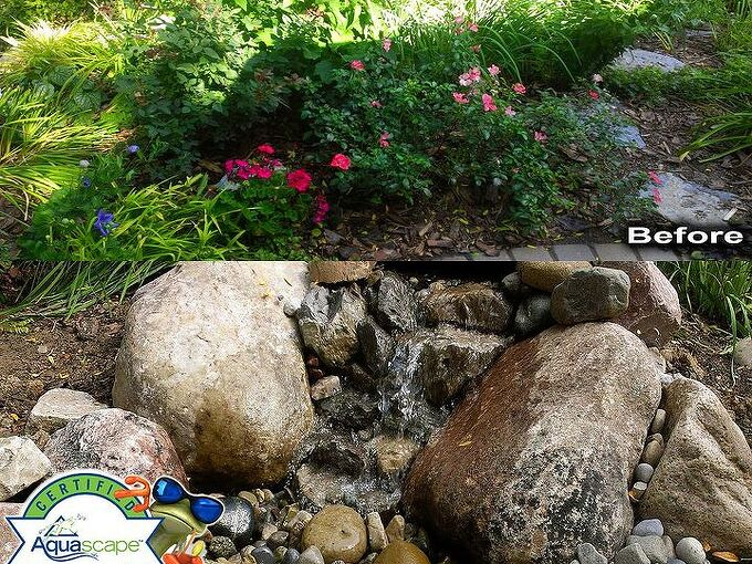micro pondless water feature, gardening, ponds water features