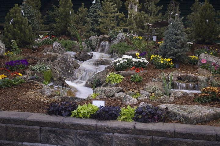 2014 denver home show garden gardens of excellence, flowers, gardening, landscape, outdoor living, ponds water features, Rocky Mountain WaterScape s 2014 Garden