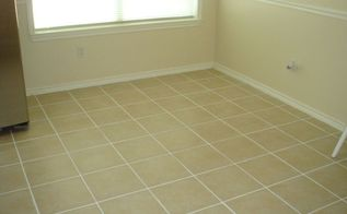 there s nothing better then making your old tile grout look new again, bathroom ideas, cleaning tips, tiling, after color sealing