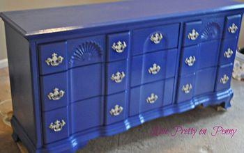 Painted Nursery Dresser