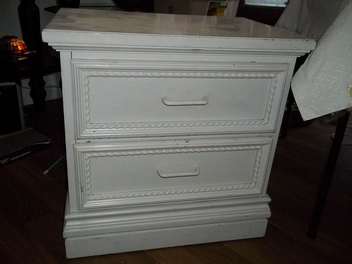 before and after photos, painted furniture