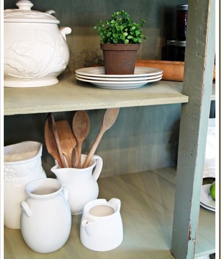 With shelves this piece could be used as anything from kitchen storage, to bookshelves, or even linen closet.