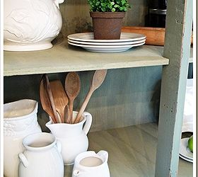 Old Armoire To Kitchen Pantry, Home Decor, Painted Furniture, Rustic  Furniture, With