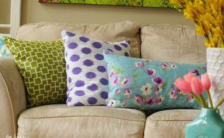 simple stunning diy envelope pillow tutorial, crafts, home decor