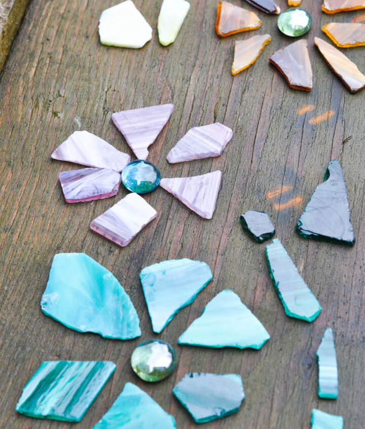 a stepping stone for someone special, concrete masonry, crafts, flowers, gardening