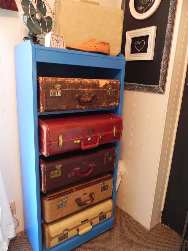 Repurposed Bookshelf Hometalk