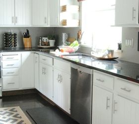 Genial Budget Friendly Modern White Kitchen Renovation, Home Decor, Home  Improvement, Kitchen Design