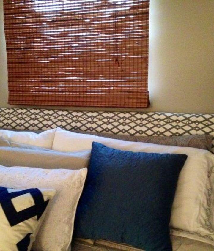 diy headboard from hollow core door total cost 40, bedroom ideas, diy, home decor, painted furniture