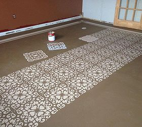Marvelous Painted Concrete Floors, Concrete Masonry, Diy Renovations Projects,  Flooring, Painting, This